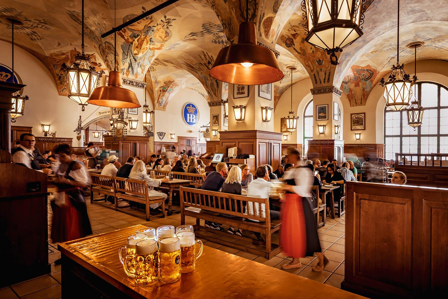 La Cucina München welcome hofbräuhaus